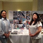 Dr. Young and Sammye Rusco displayed Project NATIVE activities at ANA's annual grantee conference on June 16, 2014.